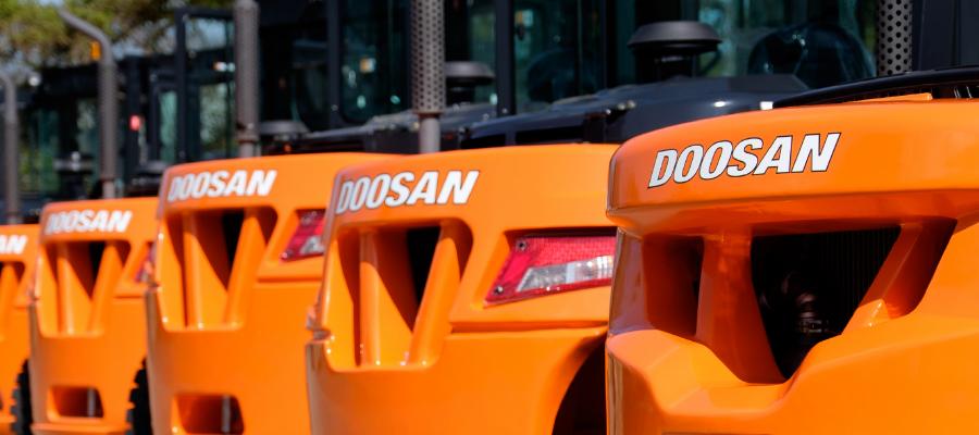 chariot élévateur diesel Caen
