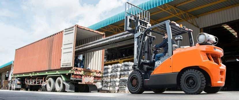 chariot élévateur 5 tonnes calvados