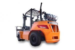 chariot élévateur gaz