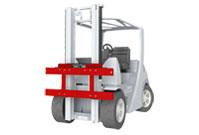 Tablier à déplacement latéral chariot élévateur accessoire